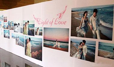 Xu hướng backdrop cưới 2014