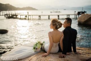 [Ảnh Cư�i Nha Trang - Sao bi�n resort ] Than & Thoa